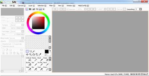 paint tool sai portable gratis free paint tool sai portable niat banget