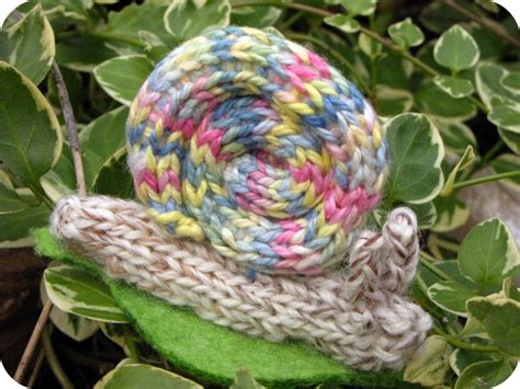 knitted snail pattern knitted easter patterns and tutorials suburbia