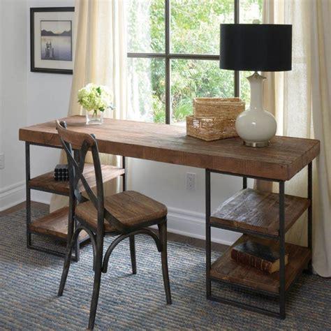wood office desk luxury offices beautifully reclaimed wooden desks
