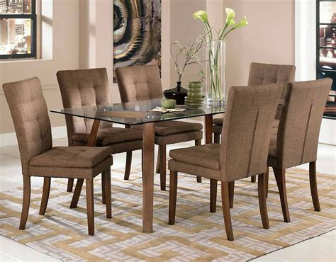 dining room sets with fabric chairs dining room chairs with a matching dining table