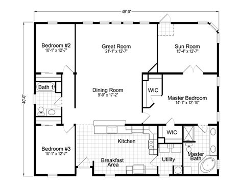 homes with floor plans wellington 40483a manufactured home floor plan or modular floor plans