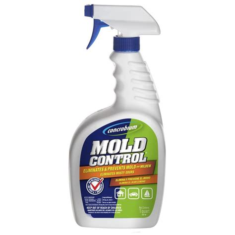 Mold On Ceiling Tiles by Shop 32 Oz Liquid Mold Remover At Lowes Com