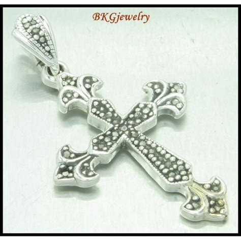 silver electroforming jewelry sterling silver marcasite jewelry electroform cross