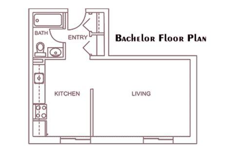bachelor flat floor plans apartment layouts