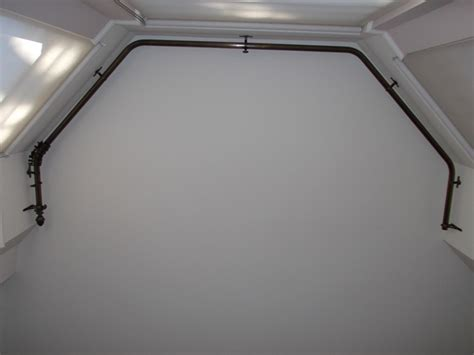 Curtain Rods For Bow Windows changing curtains highgate north london n6 5bb poles and