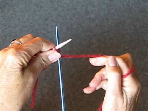 knitting tips by judy how to knit on