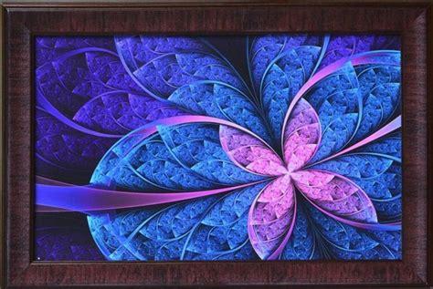 uv paint india buy purple leaf design satin matt texture framed uv
