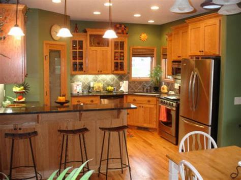 paint color ideas for kitchen with oak cabinets best paint colors for kitchens with oak cabinets