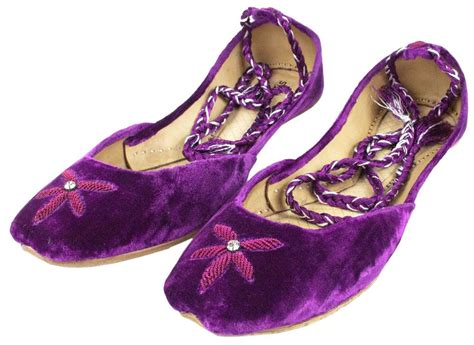 purple beaded shoes womens purple evening dress beaded indian leather khussa