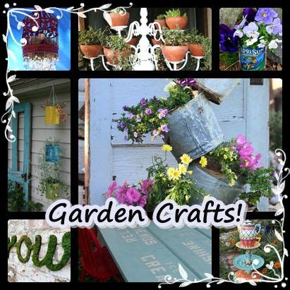 garden craft ideas for garden crafts backyard ideas