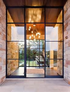 metal front doors for homes with glass 28 beautiful glass front doors for your entry shelterness