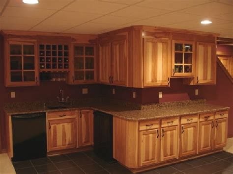 paint colors for kitchen with hickory cabinets kitchen paint color lake
