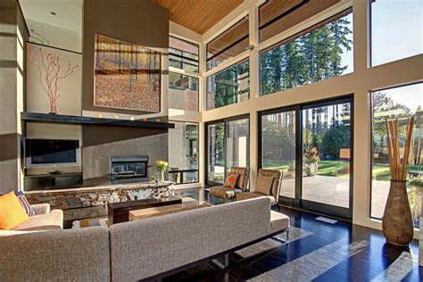 Modern Kitchen And Dining Room Design fabulous forest house promises sophistication coupled with