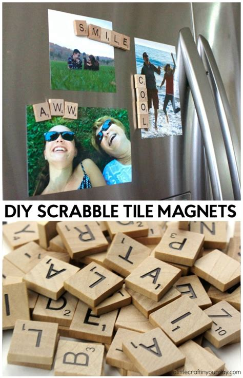 diy scrabble letters diy scrabble tile magnets a craft in your day