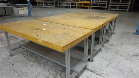 woodworking shop table rivet eyelet cushion machines