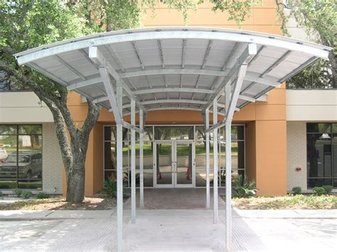 Metal Canopy by Commercial Entrance Canopies Metal Awnings Canopies
