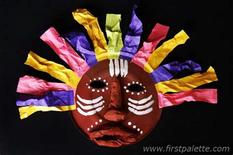 south africa crafts for paper plate mask craft crafts