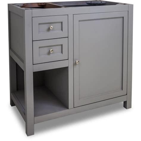 36 Bathroom Vanity Cabinet Jeffrey Van103 36 Grey Astoria Modern Collection 36 Inch Wide Bathroom Vanity Cabinet