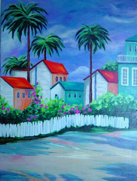 key west painting key west by rosie sherman