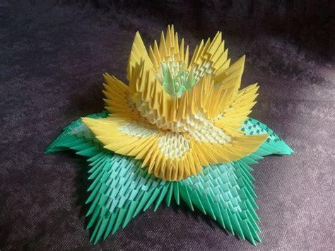 3d origami lotus 3d origami lotus