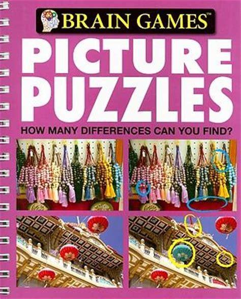 picture puzzle books brain picture puzzles holli fort 9781412795326