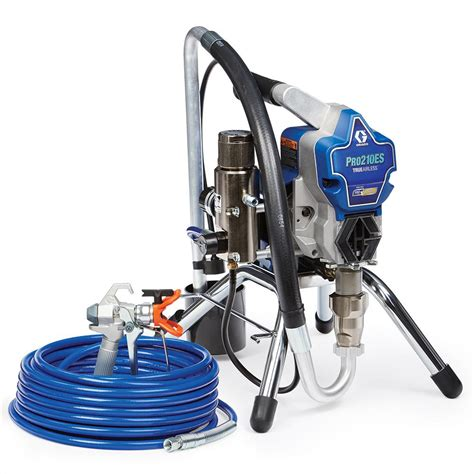 home depot paint sprayer rental cost graco pro210es airless paint sprayer 17d163 the home depot