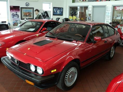 Alfa Romeo Gtv6 For Sale by 1986 Alfa Romeo Gtv6 2 5 Classic Italian Cars For Sale