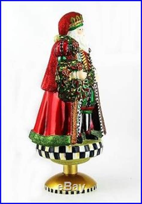 tree topper stand mackenzie childs medici santa tree topper with stand