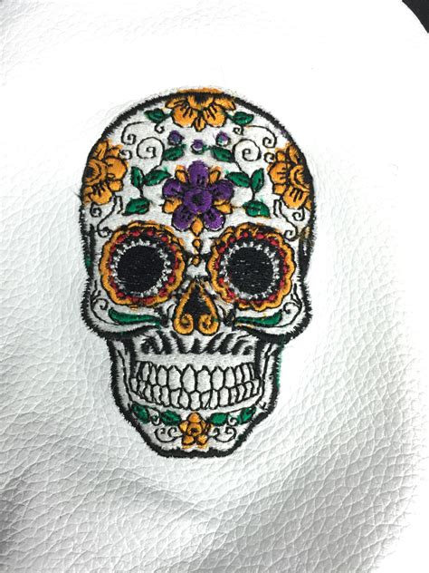 for sugar skull sugar skull leather dr fw hb or set sunfish