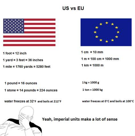 metric vs imperial imperial vs metric units www jokes