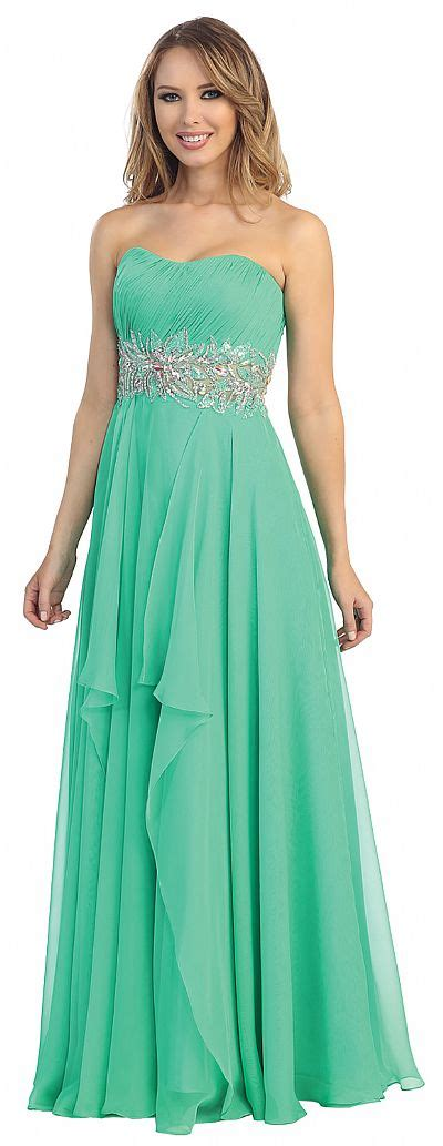 all beaded prom dresses strapless floral beaded waist formal prom dress 45500