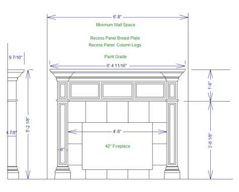 fireplace plan pdf diy fireplace mantels plans simple wooden