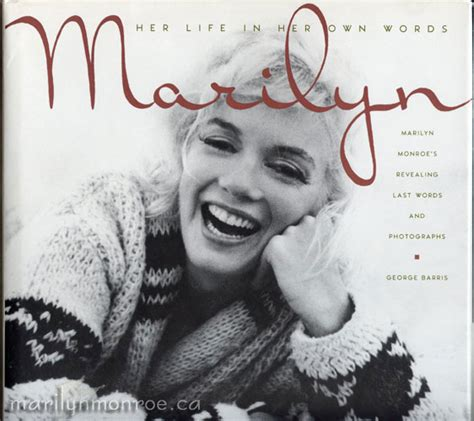 marilyn picture book marilyn in own words george barris