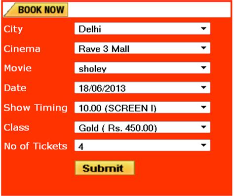 ticket booking project ideas for cse and it engineering studnets 2015