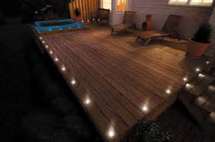 how to put lights in decking 5 beautiful garden lighting ideas