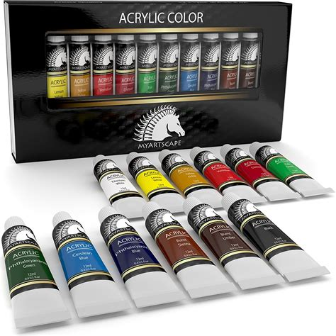 acrylic painting set acrylic paint set artist quality paints for painting