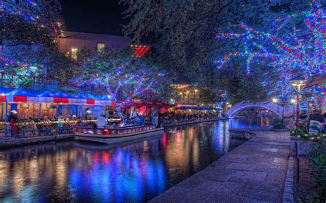 san antonio lights in san antonio lights riverwalk