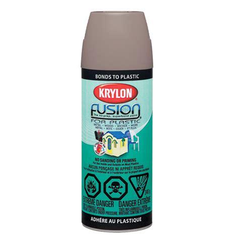 spray paint resin krylon quot fusion quot spray paint for plastic r 233 no d 233 p 244 t