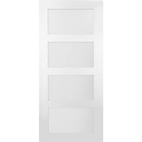 frosted glass for doors shop masonite classics 4 lite frosted glass slab interior