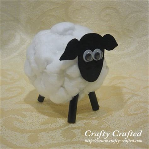 sheep craft crafty crafted crafts for children 187 sheep