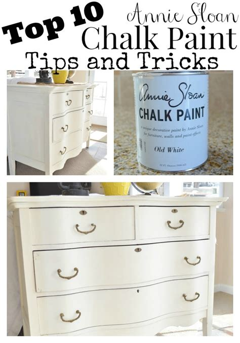 chalk paint tips and tricks review of chalky spray paint