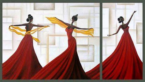 cuadros etnicos mujeres africanas cuadros modernos pinturas y dibujos modernas l 225 minas de