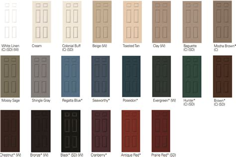 paint colors exterior doors interior paint colors clad jambs available in these