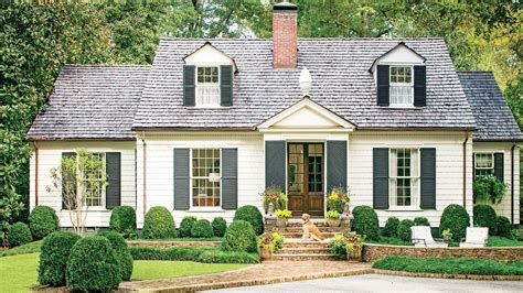cottage style homes charming cottage curb appeal makeover southern living