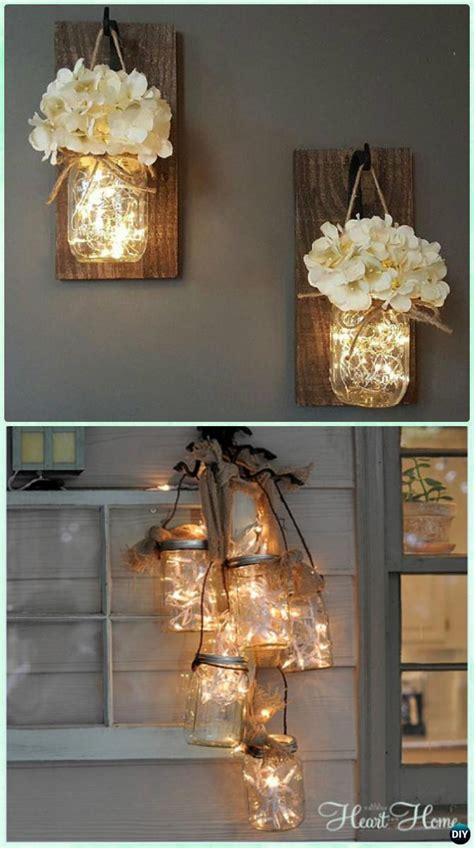 how to make jar string lights 12 diy jar lighting craft ideas picture