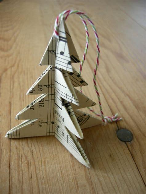 papier weihnachtsbaum 1001 ideen und bastelvorlagen f 252 r weihnachtsbaumschmuck