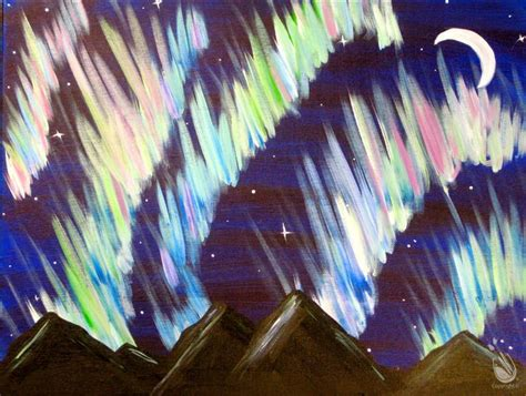 paint with a twist o fallon mo northern lights open saturday february 25 2017