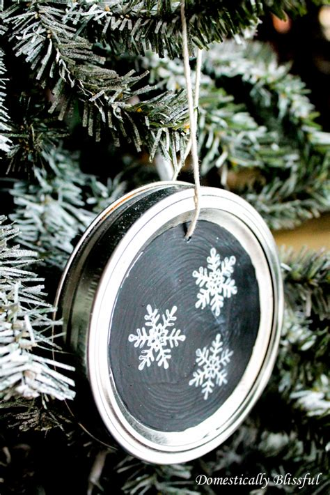 diy chalkboard ornaments 14 diy chalkboard crafts shelterness