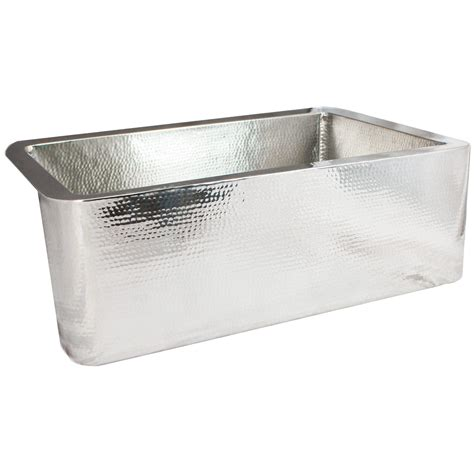 hammered stainless steel kitchen sink linkasink hammered stainless steel farmhouse kitchen sink