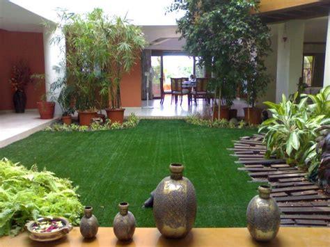 Garden Accessories In Hyderabad A Beautiful Garden Adorned By Our Artificial Grass Inside